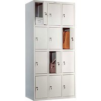 LS(LE)-34 — шкаф для одежды с 12 отделениями